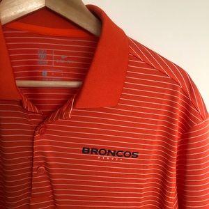 Nike Denver Broncos Men's Dri-Fit Golf Polo
